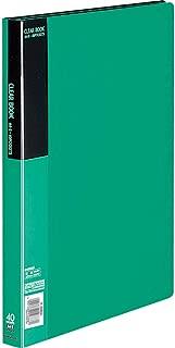 コクヨ ファイル クリアファイル ベーシック A4 40枚 緑 ラ-B40G
