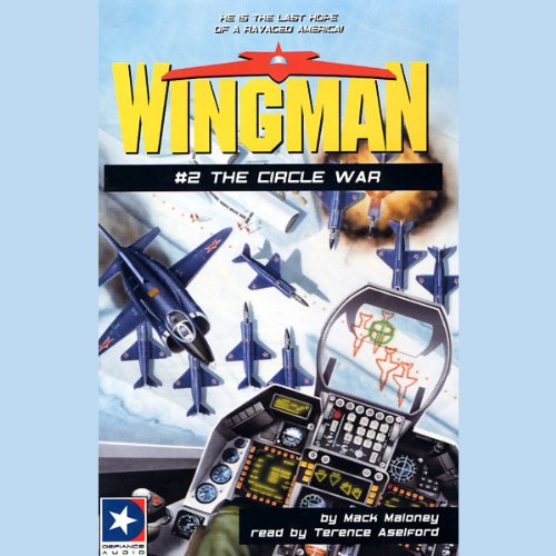 Wingman #2 audiobook cover art