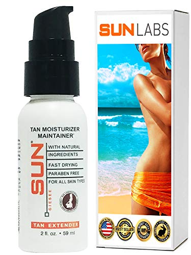 Self Tan Moisturizer Maintainer Tan Extender Lotion With Bronzer 2 Oz - Post Spray Tan Moisturizer Tan Extender - Natural Sunless Body And Face For Bronzing Glow And Golden Tan