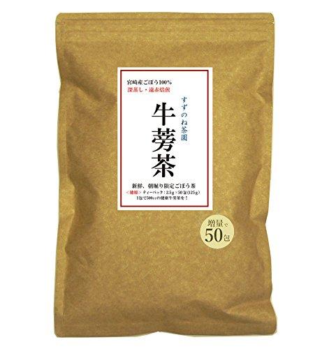 ごぼう 茶 副作用