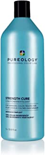 Pureology Strength Cure Strengthening Conditioner | For Damaged, Color Treated Hair | Sulfate-Free | Vegan