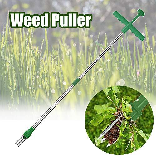 Find Discount GEZICHTA Weed Puller,Manual Long Handle Garden Weeding Tool,Easy Weed Grabber, Stand U...