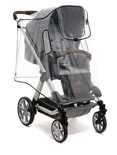 Reer RainCover Active Regenschutz, für Buggys und Sportwagen