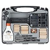 Wolfcraft 4645000 - Set universal de espigado de...