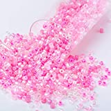Soeather miyuki 11/0 semillas de perlas delicadas cuentas de vidrio pulsera de perlas japonesas para vestido de fiesta artesanal que hace 3g sobre 600 piezas, DBMIX55