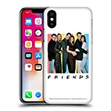 Head Case Designs Official Friends TV Show Cast Logos Hard Back Case Compatible for Apple iPhone 5 / iPhone 5s / iPhone SE 2016