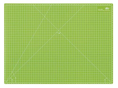 Wedo Cutting Mat - Esterilla para corte, 600 x 450 x 3 mm, color verde manzana