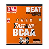 Fast&Up Ultra Instantised BCAA - 10 Serving Sachets - 5000mg BCAA Amino Acids
