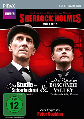Vol. 1: Eine Studie in Scharlachrot / Das Rätsel von Boscombe Valley