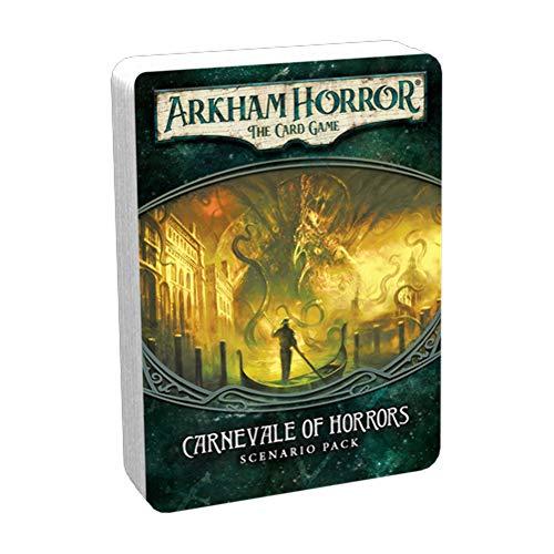 Fantasy Flight Games FFGAHC10 Arkham Horror LCG - Juego de escenarios para Carnaval (Contenido en alemán)