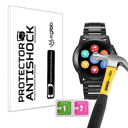 Protector de Pantalla Anti-Shock Anti-Golpe Anti-arañazos Compatible con Leotec Smartwatch Adventure Swim