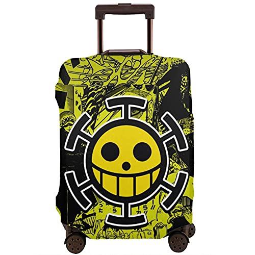 Anime - Funda protectora de una pieza para maleta (lavable, diseño de impresión 3D, 4 tamaños, para la mayoría de equipajes, bolsa protectora con cremallera