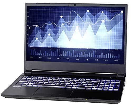 NEXOC Office - Portátil (15,6 pulgadas Full HD) con i7-9750H (4,50 GHz Turbo!) Intel UHD Graphics 630, 120 GB SSD, 1TB HDD, 16 GB DDR4 RAM (S1528)