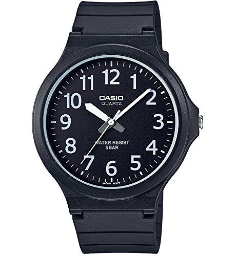 [カシオ] 腕時計 スタンダード CASIO STANDARD MW-240-1BJF ブラック