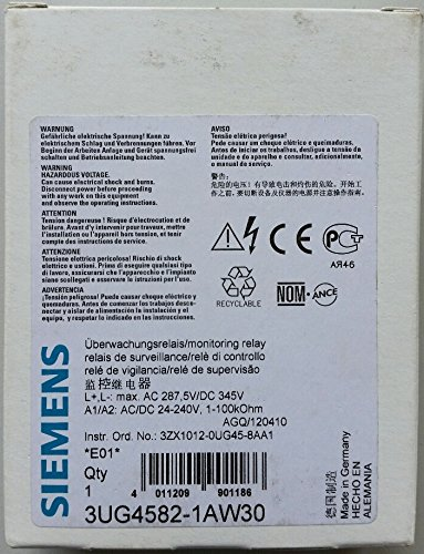 Siemens SIRIUS–Isolierende Monitor 1–110kOhm 24–240V Borne Gasdruckfeder