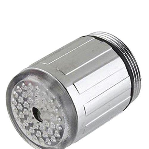 MagiDeal LED Licht Wasserhahn Armatur Spültischarmatur Küchenarmatur mit 7 Farben - 8
