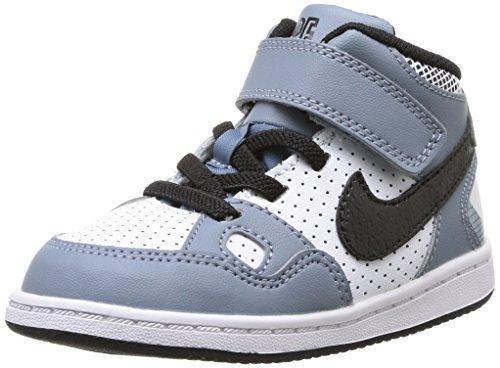 Nike Son of Force Mid BT Scarpe Sportive, Unisex Bambino, Mgnt Grey/Blck-Wht-Mtllc Slvr, 21