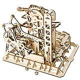 LIANG Rompecabezas de Madera arquitectónico, 3D Rompecabezas de Madera Modelo de Arte locomotor con Engranaje mecánico-el Mejor Juguete para niños y Adultos,502