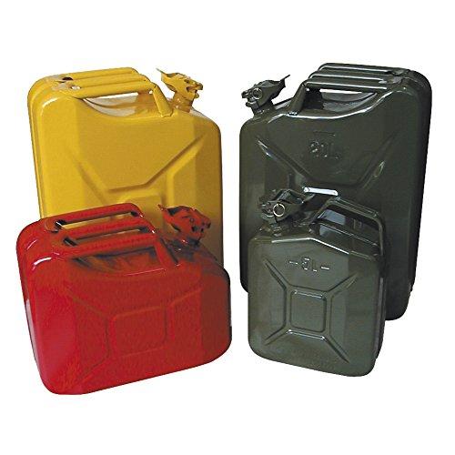 Dönges 23-265020-0 Bidon de Carburant en tôle d'acier laquée (modèle Militaire) -Capacité : 20 l