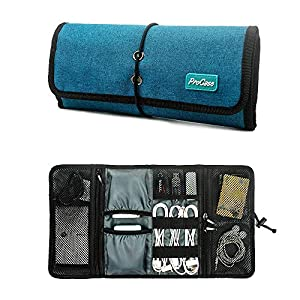 ProCase Roll-up Electronics Organizer