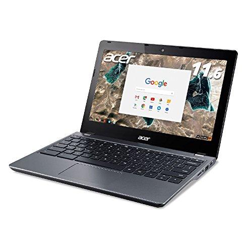 Acer ノートパソコン Chromebook Core i3-5005U/4GB/32GB SSD/11.6/WiFi/モバイル/グラナイトグレイ/1年保証 C740-F34N