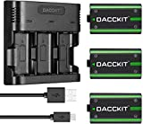 D DACCKIT Controller Battery Pack for Xbox...