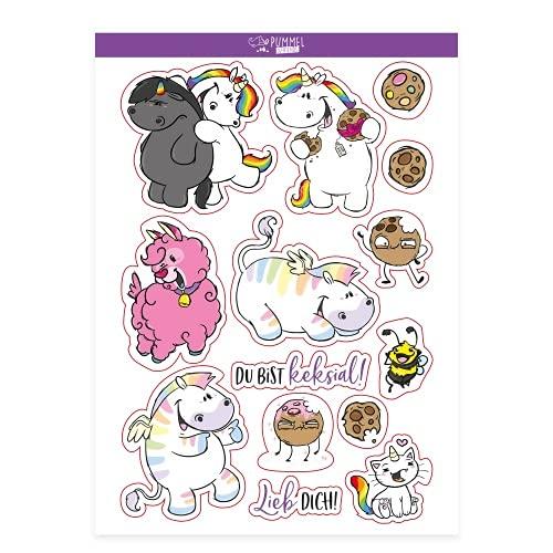 Pummel & Friends - Stickerbogen - Friends