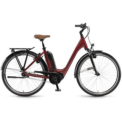 Winora Tria N7 400 Pedelec E-Bike Trekking Fahrrad rot 2019: Größe: 54cm