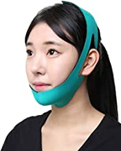 DADAMOA New Garmi V-line chin lift lifting bands Face Slim Lift-Up Mask Chin Cheek Neck Slimming Beauty V Face Line Anti-Wrinkle (Green)
