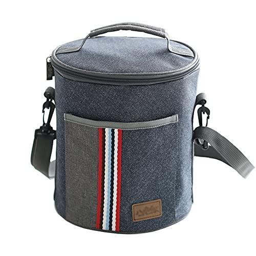 KFJHD Borsa isolante,sacchetto di stoccaggio freddo,sacchetto del pranzo del foglio di alluminio del panno di Oxford,sacchetto addensato del pranzo,borsa del pranzo del pranzo,adatto for esterno/campe