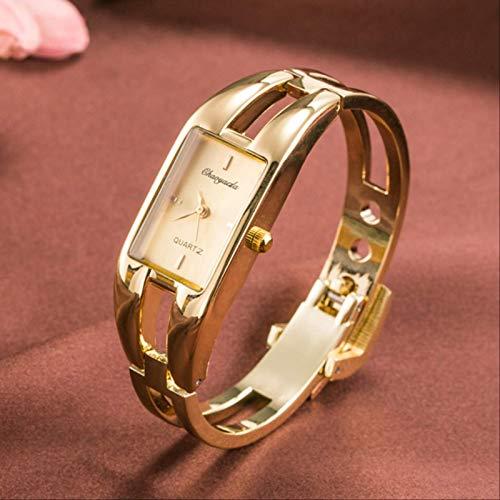 Moda Línea De Tendencia Señoras Pulsera Reloj Simple Casual Cuarzo Impermeable Reloj Electrónico Versión Coreana Accesorios Reloj