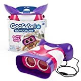 Educational Insights GeoSafari Jr. Kidnoculars Pink Binoculars for Toddlers & Kids, Stocking Stuffer for Boys & Girls, Ages 3+