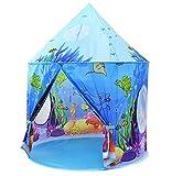 Benebomo Tende da Gioco per Bambini Blue Ocean Castle Tenda per Bambini, Teepee per Bambini, casa Tenda da Gioco, casa Tenda per Bambini, Tenda da Giardino per casa da Gioco per Bambini