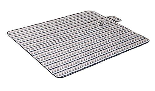 Honeystore 180*150 Oxford Yoga Matte Strand Ausflug Picknickdecke mit wasserabweisender Unterseite Braun