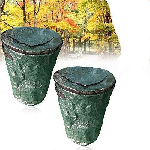 Great Deal! Sealable Garden Bag,Reusable Garden Waste Bag,Heavy Duty Gardening Bags with Windows on ...