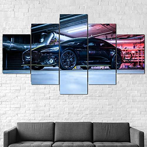 Quadro Moderno Aston Martin Rapide Amr Auto Stampa su Tela - Quadro x poltrone Salotto Cucina mobili Ufficio casa - Fotografica Formato XXL