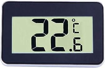 KUNSE Ts-A95 Mini LCD Termómetro Digital Higrómetro Termómetro Electrónico Impermeable con Gancho-Negro