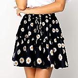 ShSnnwrl Robe Sexy d'été imprimé Floral Boho Sexy Mini Jupe Femmes Pansement Mode Taille Haute...