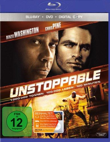 Unstoppable - Außer Kontrolle (+ DVD + Digital Copy) [Blu-ray]
