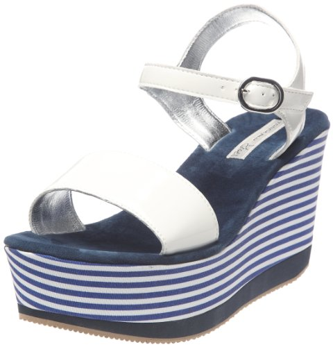 Tosca Blu Shoes Damen Gemma 3 Sandalen, Blau - Bleu (30 Blu), 41 EU
