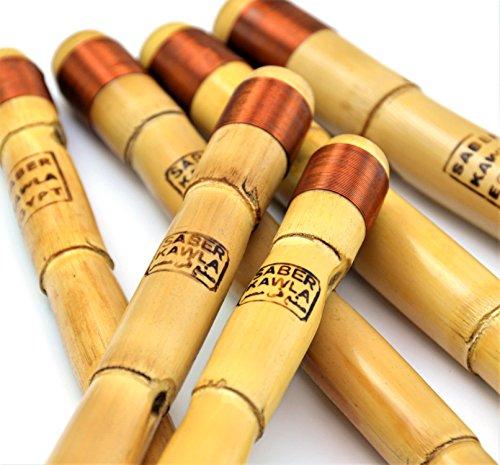 Saber KAWALA Ägyptische Professional Ney: nein Flute Woodwind Full Set von 7440Hz Concert Grade