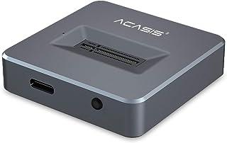 ACASIS NVME USBアダプター M.2 SSD to Type Aカード ケーブルクローンなし 高性能10 Gbps USB 3.1 Gen 2ブリッジチップ ポータブルSSDとして使用 USB to M2 SSD Key M Win...