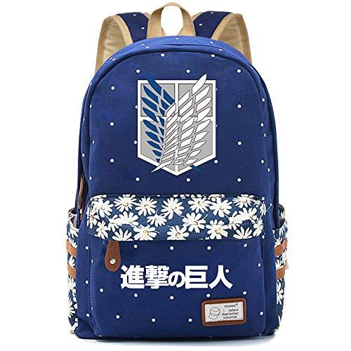 Memory meteor Bolsa Shingeki No Hay Clases Kyojin Animado Mochila de Hombro