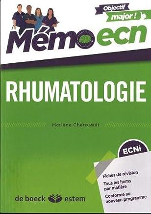 Rhumatologie - Mémo ECN