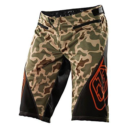 Troy Lee Designs - Pantalones Cortos Sprint - Camuflaje del Desierto, Talla 32