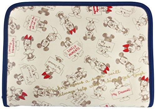 『クーザ 片面ジャバラマルチケース (ミッキーマウス&ミニーマウス) DKJB-2301』の1枚目の画像