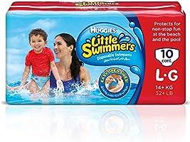Huggies Little Swimmer, Swim Pants Diaper, Large, 10 Swim Pants