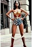 (24 x 36) Lynda Carter als TV-Poster, Motiv Wonder Woman
