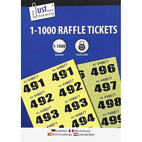 Just Stationery 1-1000 - Biglietto per guardaroba
