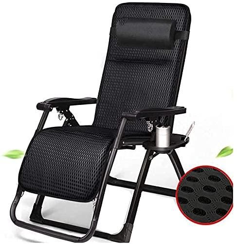 Silla de la tumbona Patio Silla de silla de silla de silla de sillón cero, camping, cama plegable ajustable, sillas de salón cama plegable reclinable sillas de patio reclinable para piscina, patio, pl